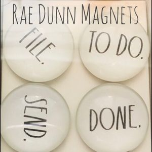 🆕 Rae Dunn Magnet Set
